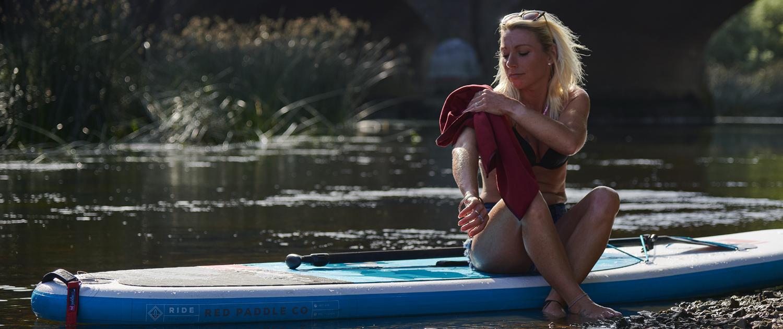 BodyRag for paddle boarding