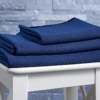 BodyRag blue-towels-stool