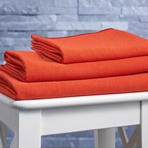 BodyRag burnt orange towels